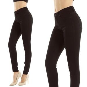 46fc10e5a3 KanCan Jeans - NWT Kan Can Elsa-Kassidy Black Skinny Jeans Mid